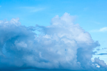 abstract dark cloud on the sky
