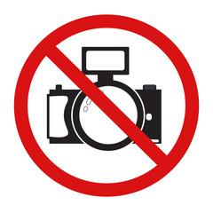 No Photo camera sign icon.