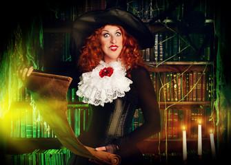 magician lady