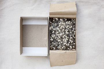 Pins in Paper box,Craft supply