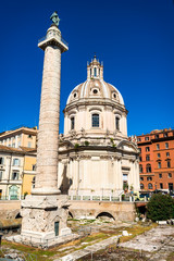 Rome, Trajan Column in Italy