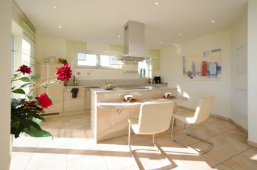 Wohnküche modern