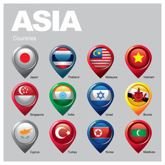 ASIA Countries - Part  Three