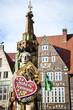 Leinwanddruck Bild - Bremer Freimarkt