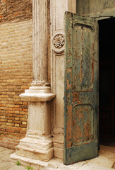 Old Church Door in Murano