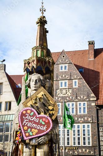 Leinwanddruck Bild Bremer Freimarkt