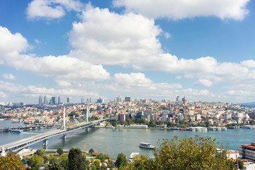View of Istanbul across the Golden Horn