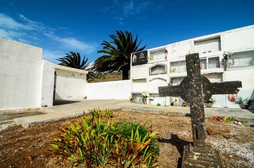 Typical Spanish Mediterrean Cemetery