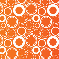 Circles background. Abstract round objects.