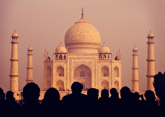 Taj Mahal India Seven Wonders Concepts