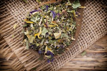 Homeopathic tea.