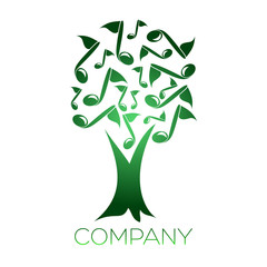 tree note logotype