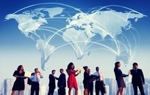 壁紙(ウォールミューラル) - Business People Working Team Cityscape
