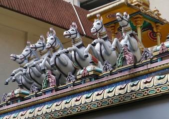 Sri Maha Mariamman hindu temple in Kuala Lumpur