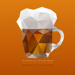 Conceptual polygon beer
