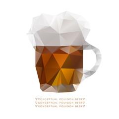Conceptual polygon beer