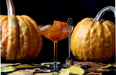 Jam from the pumpkin