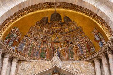 Particolare Cattedrale di San Marco, Venezia, Veneto, Italia