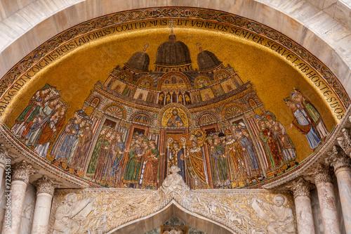 Foto op Canvas Venice Particolare Cattedrale di San Marco, Venezia, Veneto, Italia