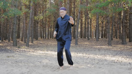 Rem Plugatar.Master of wushu,wu hsing from Ukraine