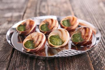 french gastronomy, escargot