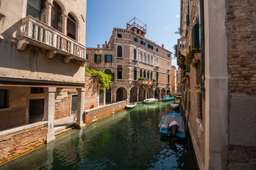 Canale veneziano, Venezia, Veneto, Italia