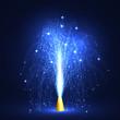 Feuerwerk, Silvester, Vulkan, funkelnd, Sterne, Firework, Pyro
