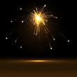 Feuerwerk, Silvester, Rakete, Explosion, Neujahr, funkelnd, Star