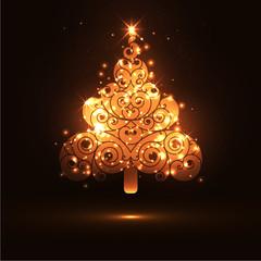 Weihnachtsbaum, abstrakt, Christbaum, Tannenbaum, Design, Xmas
