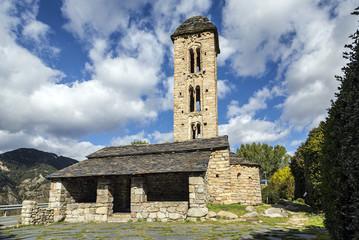Romanesque church Sant Miquel d´Engolasters, Andorra