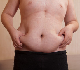A boy of 10 years with metabolic disorders.
