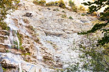 waterfall uchan-su in Crimean mountains