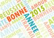 Carte 2015 couleurs vintage