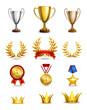 Ranking icons set