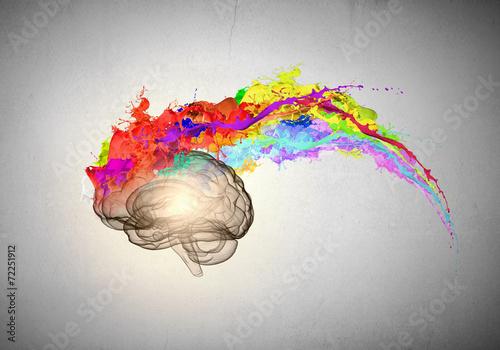 Leinwandbild Motiv Creative thinking