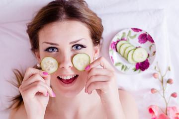 green natural spa treatment