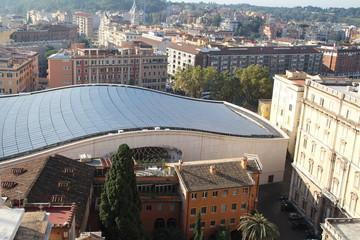 Die Audienzhalle im Vatikan
