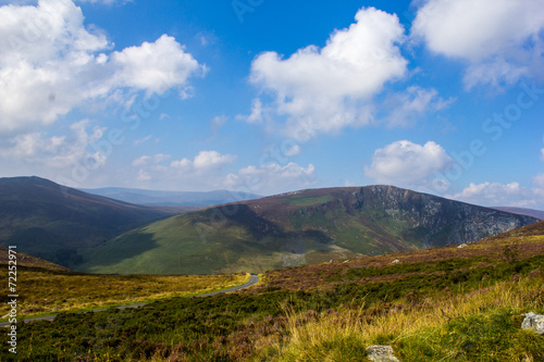 canvas print picture WicklowMountains