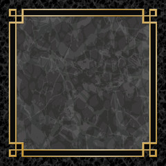 Marble Backgrounds with Gold Frame