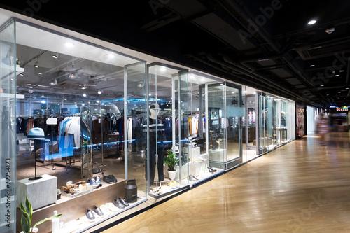 clothing fashion shop exhibition window - 72254123