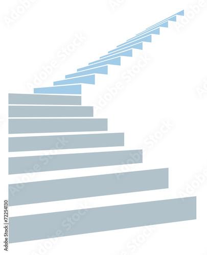 stair in sky - 72254130
