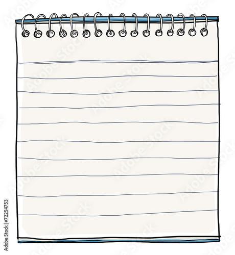 Leinwanddruck Bild Note Paper painting