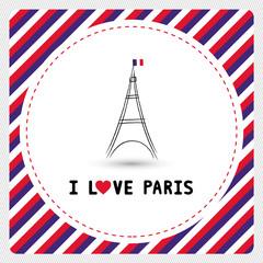 I love Paris card6