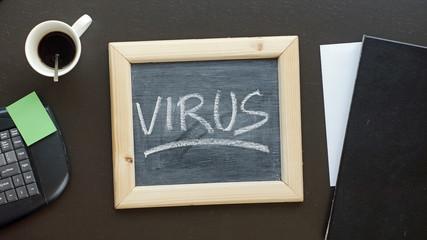 Virus written