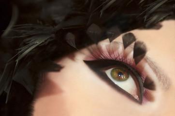 Перья глаз.