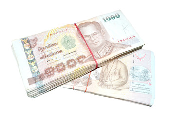 Thailand bank notes 150 thousands