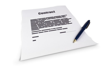 The contract document
