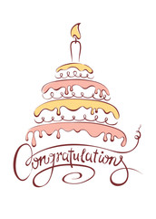Cake and Congratulations
