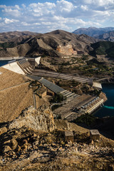 Keban, a Hydroelectric Energy Dam
