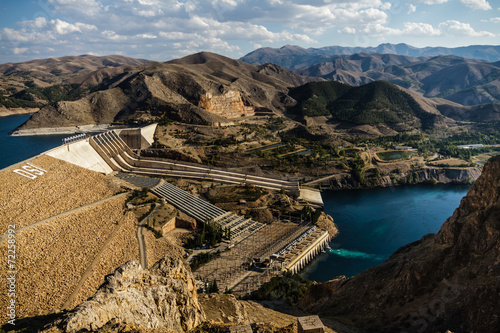 Staande foto Dam Keban, a Hydroelectric Energy Dam